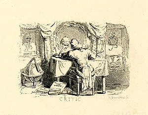 "English: Book illustration, ""The Critic&q..."