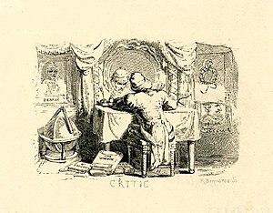 Allen Robert Branston - The Critic, 1817 book illustration by Branston.