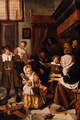 The Feast of St. Nicolas - Jan Havicksz Steen.png