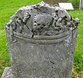 The Gravestone to two children killed by a wildcat. Muirkirk, East Ayrshire.jpg
