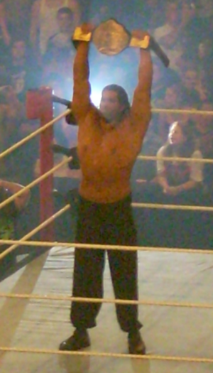 The Great American Bash (2007) - The Great Khali as World Heavyweight Champion