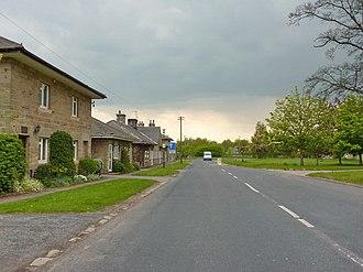 North Deighton - Image: The Green, North Deighton (geograph 2165378)