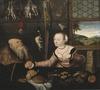 The Ill-matched Couple (Lucas Cranach d.ä.) - Nationalmuseum - 17208.tif