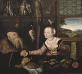 The Ill-matched Couple (Lucas Cranach d.ä.) - Nationalmuseum - 17208.tif