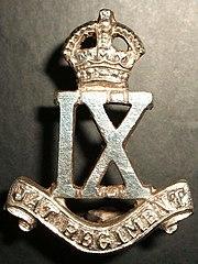 The Jat Regiment Insigna British India
