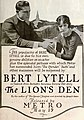 The Lion's Den (1919) - Ad 1.jpg