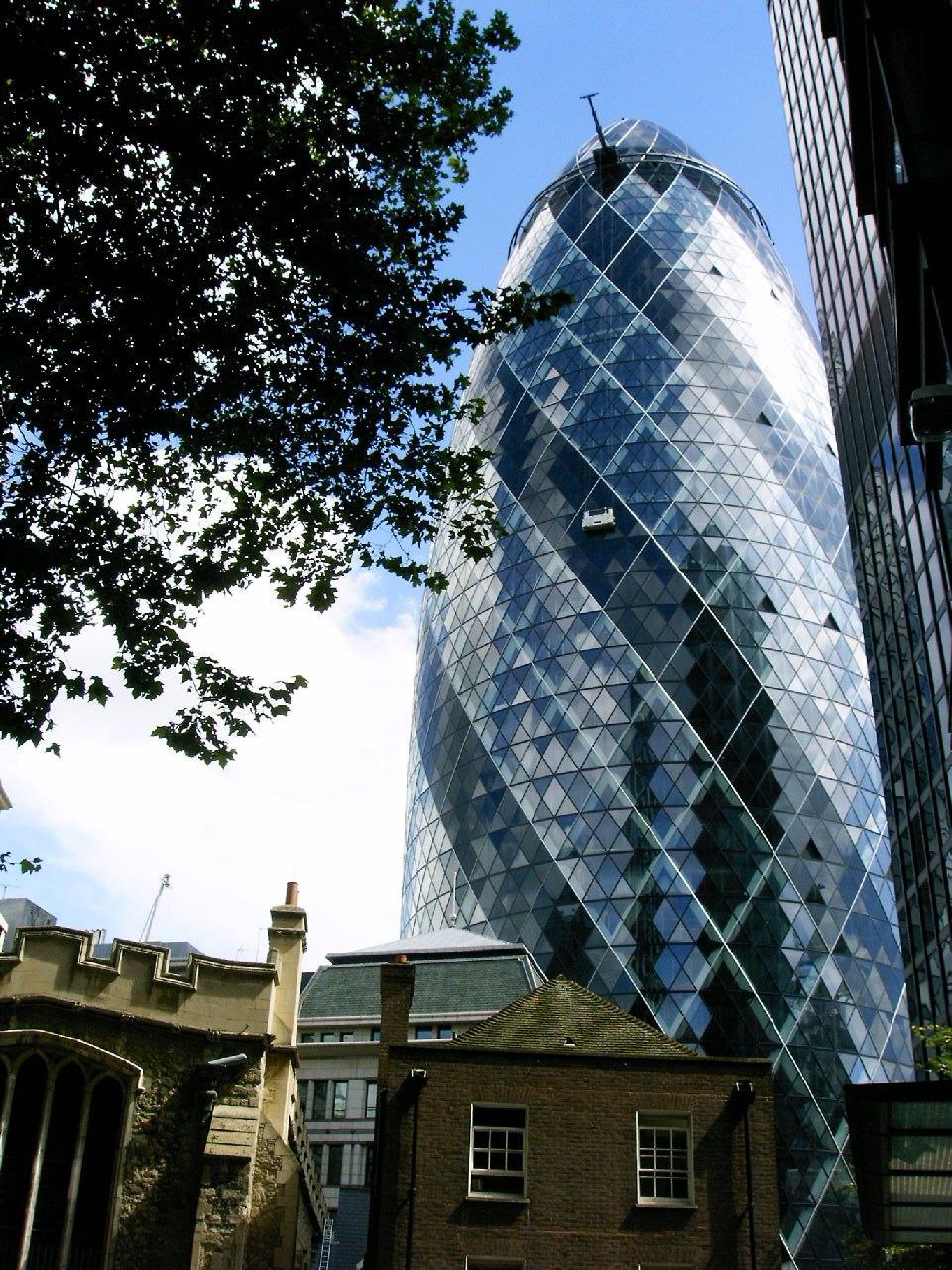 The London's Gherkin