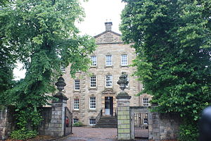Inveresk - A typical mansion in Inveresk Village