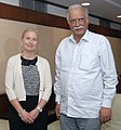 The Minister of Infrastructure, Sweden, Ms. Anna Johansson meeting the Union Minister for Civil Aviation, Shri Ashok Gajapathi Raju Pusapati, in New Delhi on April, 01, 2015.jpg