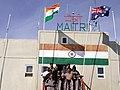 The Minister of State for Science & Technology, Ocean Development Shri Kapil Sibal at Indian Station Maitri, in Antarctica on February 2,2005 (2).jpg