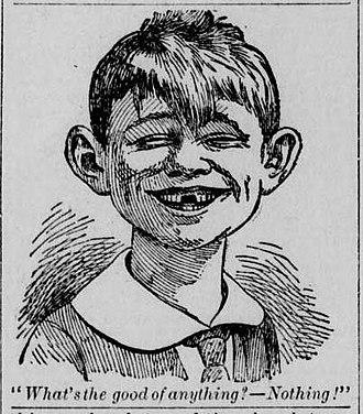Alfred E. Neuman - The New Boy—1894