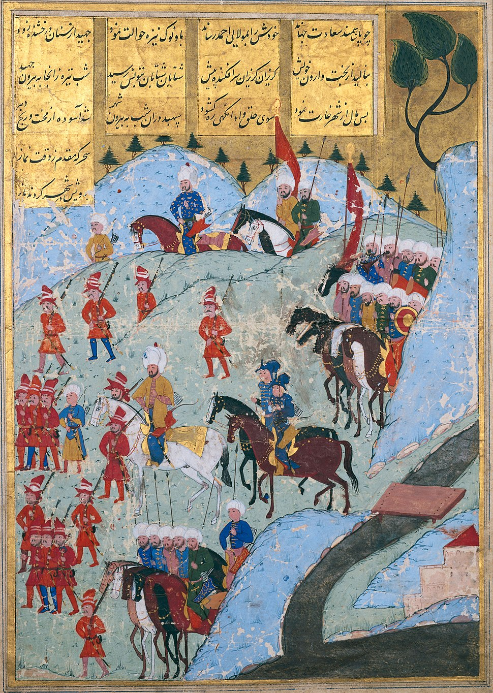 The Ottoman Army Marching On The City Of Tunis In 1569 Ce