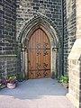 The Parish Church of St John the Evangelist Cullingworth, Doorway - geograph.org.uk - 1825373.jpg