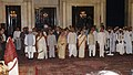 The President, Smt. Pratibha Patil at the 'At Home' in honour of Freedom Fighters at Rashtrapati Bhavan in New Delhi on August 9, 2007.jpg
