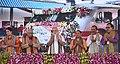 The Prime Minister, Shri Narendra Modi flagged-off the Third Mahamana Express to Run between Varanasi and Vadodara, in Varanasi, Uttar Pradesh.jpg