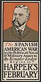 The Spanish American war in its political naval & military aspects by Senator Lodge, begins in Harper's February LCCN2015646472.jpg