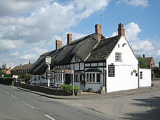 Honeybourne - Image: The Thatched Tavern
