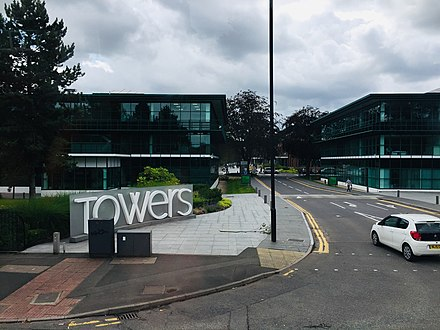 The entrance to the Towers business park The Towers Didsbury entrance11 25 09 681000.jpeg