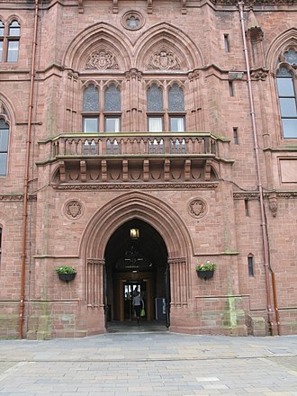 Barrow-in-Furness Town Hall - Image: The Town Hall at Barrow in Furness geograph.org.uk 1513512