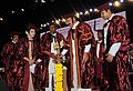 The Vice President, Shri M. Venkaiah Naidu lighting the lamp at the First Graduation Day function of Malla Reddy Institute of Medical Sciences & Malla Reddy Institute of Dental Sciences, in Hyderabad, Telangana.JPG