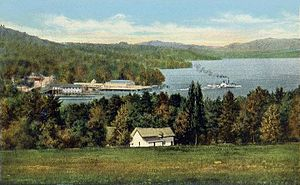 Lake Winnipesaukee - The Weirs, about 1920