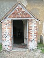 The church porch at St Mary the Virgin, Upwaltham - geograph.org.uk - 1143278.jpg