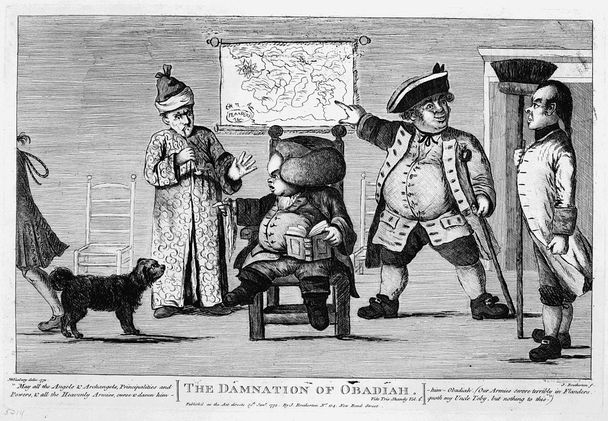 Vie Et Opinions De Tristram Shandy Gentilhomme Wikip 233 Dia