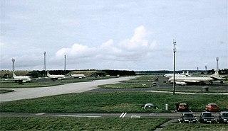RAF Kinloss former Royal Air Force station in Moray, Scotland