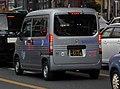 The rearview of Honda N-VAN G・Honda SENSING (HBD-JJ1) used as a delivery van of SAGAWA EXPRESS.jpg
