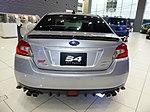 The rearview of Subaru DBA-VAG WRX S4 STI Sport EyeSight.jpg