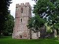 The ruined church of St. John the Baptist, Llanwarne - geograph.org.uk - 951606.jpg