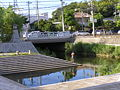 The vicinity of Irifune bridge of Kurashiki river.JPG