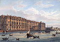 The winter Palace (North facade) in St. Petersburg in the 19th century.jpg