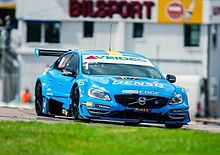 98986fcb0c Thed Björk driving an S60 entered by Polestar Racing in the 2014  Scandinavian Touring Car Championship.
