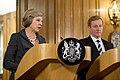 Theresa May and Taoiseach Kenny Bilateral talks.jpg