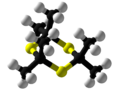 Thioacetone Trimer Ball and Stick.png