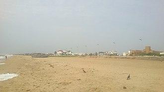 Thiruvanmiyur - Thiruvanmiyur beach