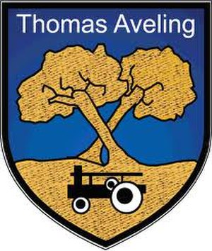 The Thomas Aveling School - Image: Thomas Aveling School Badge