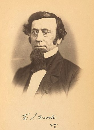 1st Confederate States Congress - Thomas S. Bocock