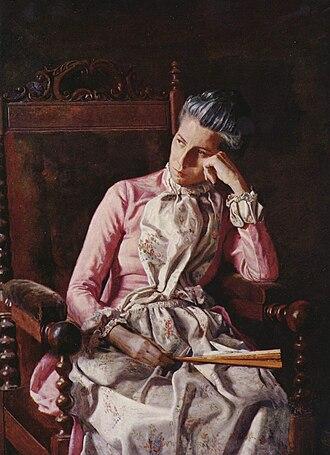 Miss Amelia Van Buren - Image: Thomas Eakins 005