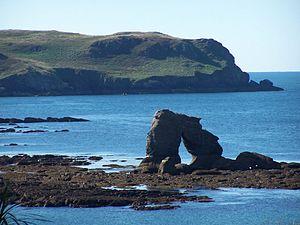 Thurlestone - Image: Thurlestone rock
