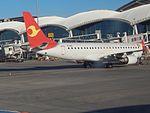 Tianjin Airlinies Em-170 B-3191 at HET (25848718864).jpg
