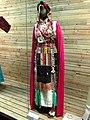 Tibetan woman clothes - Yunnan Nationalities Museum - DSC04237.JPG