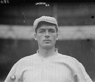 Utility infielder - Tillie Shafer was a utility infielder for the New York Giants.