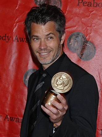 Timothy Olyphant - Image: Timothy Olyphant Peabody Awards 2011 (8166714309) (cropped)