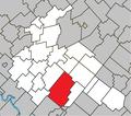 Tingwick Quebec location diagram.png