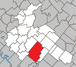 Tingwick Quebec location diagram.png
