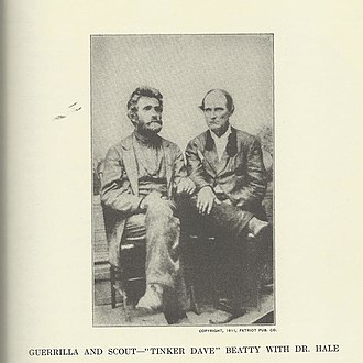 Guerrilla warfare in the American Civil War - Image: Tinker Beatty & Dr Hale