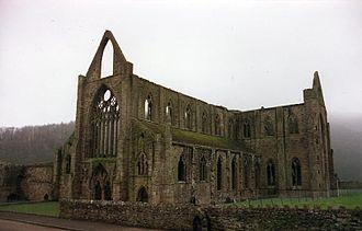 Cistercian Way (Wales) - Tintern Abbey