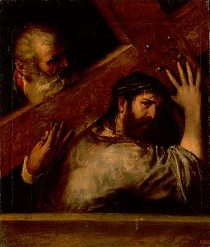 Titian (Tiziano Vecellio) - Carring of the Cross.jpg